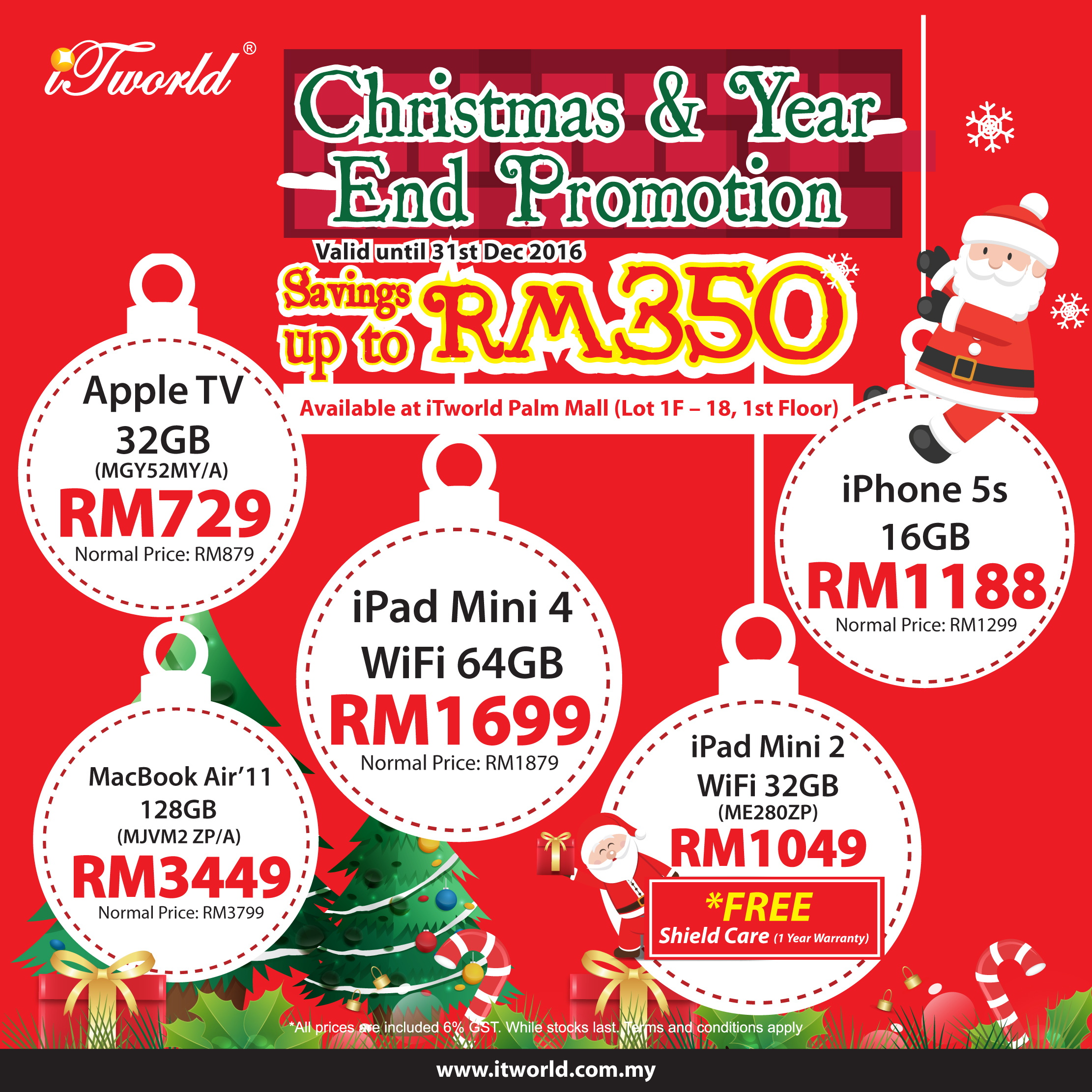 Christmas & Year End Promotion