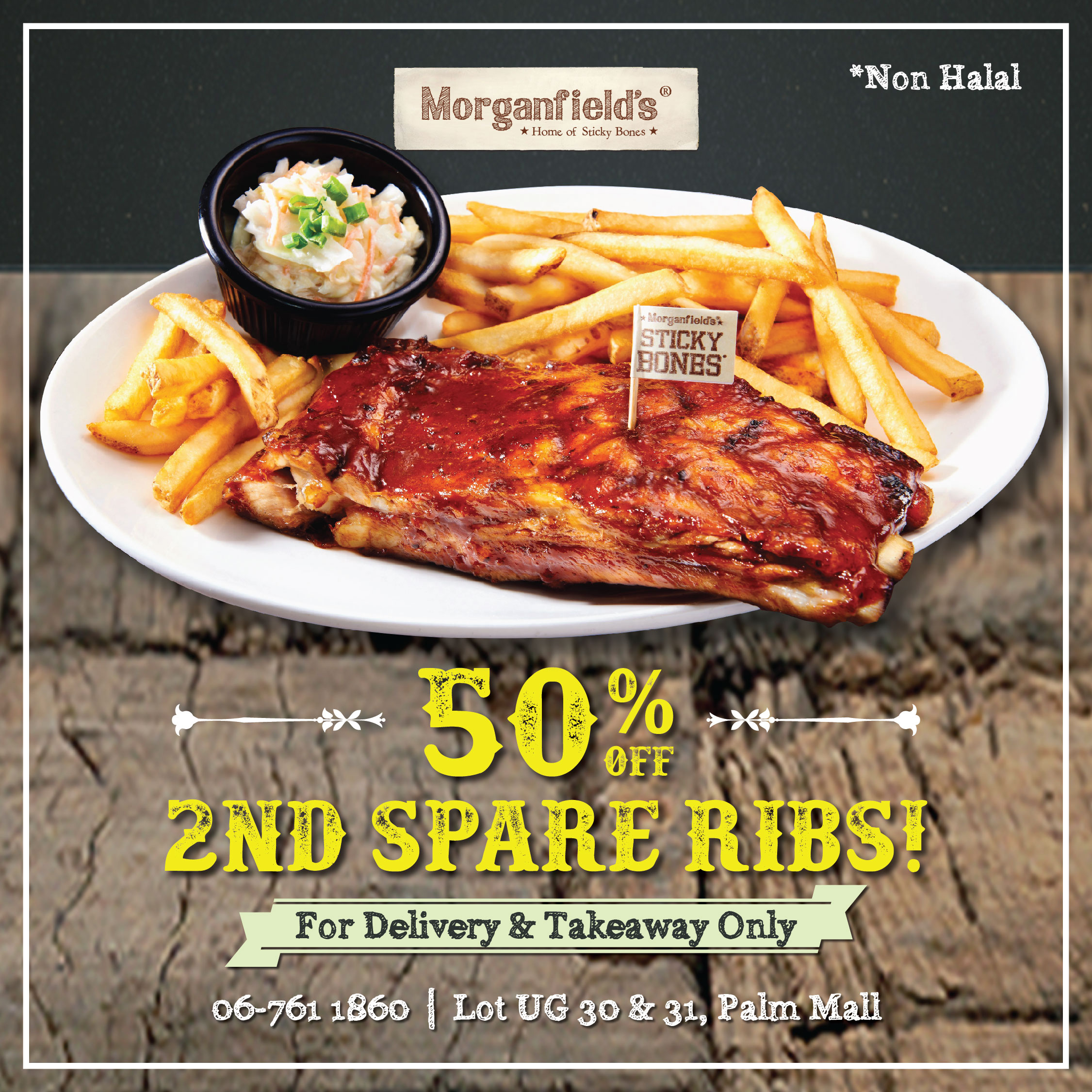 Morganfield's Delivery