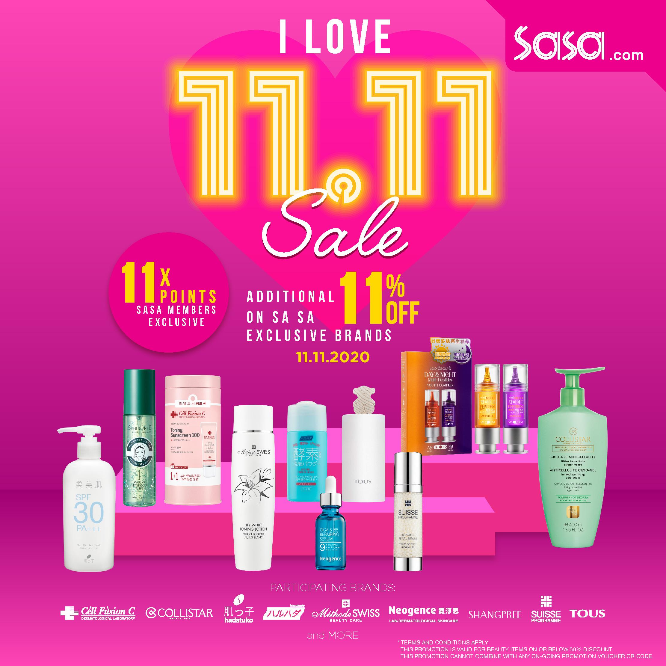 Sa Sa Exclusive Promotion