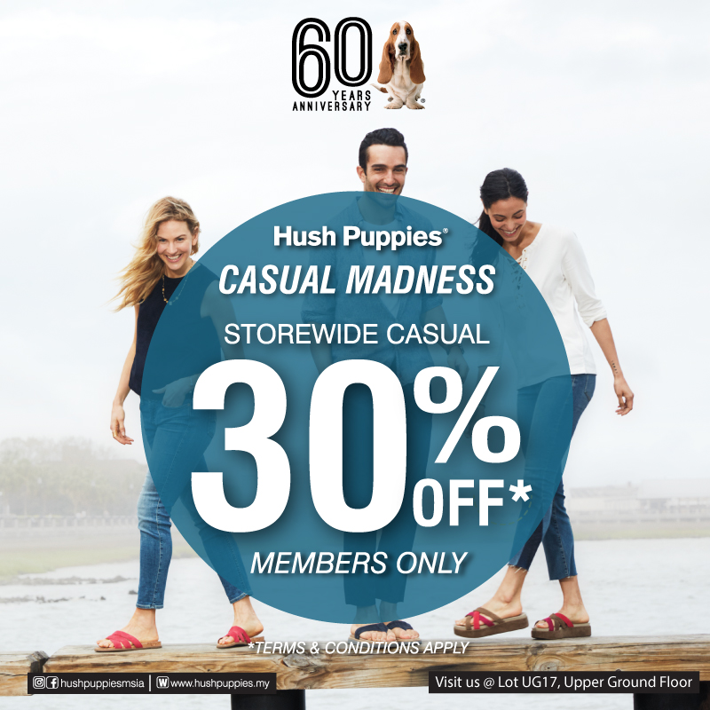 Storewide Casual 30% (Members Only)