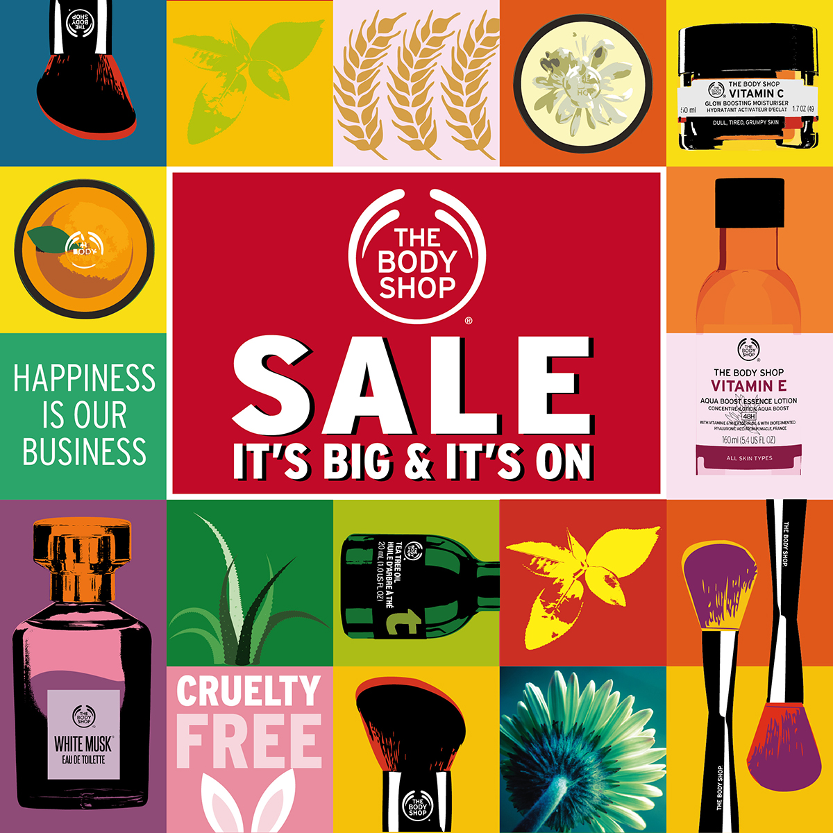 The Body Shop October Sale