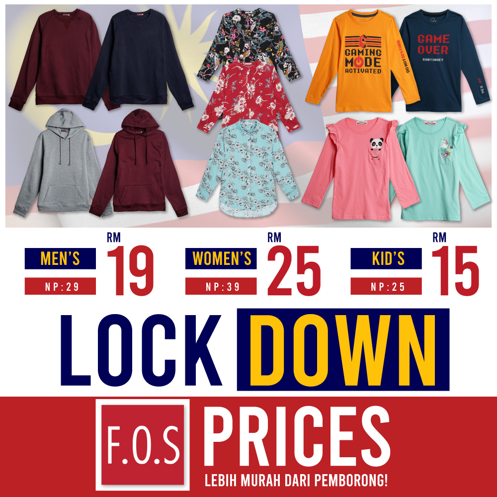 F.O.S Lock Down Price Round 6