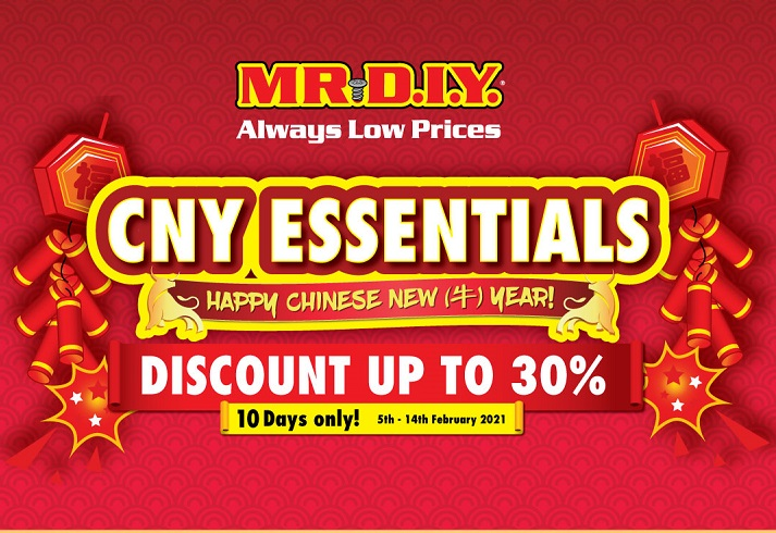 30% Discount with Mr.DIY