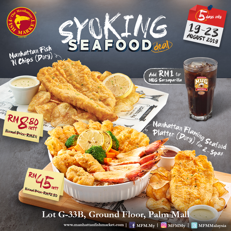 Manhattan Fish Market Shocking Seafood Deal!