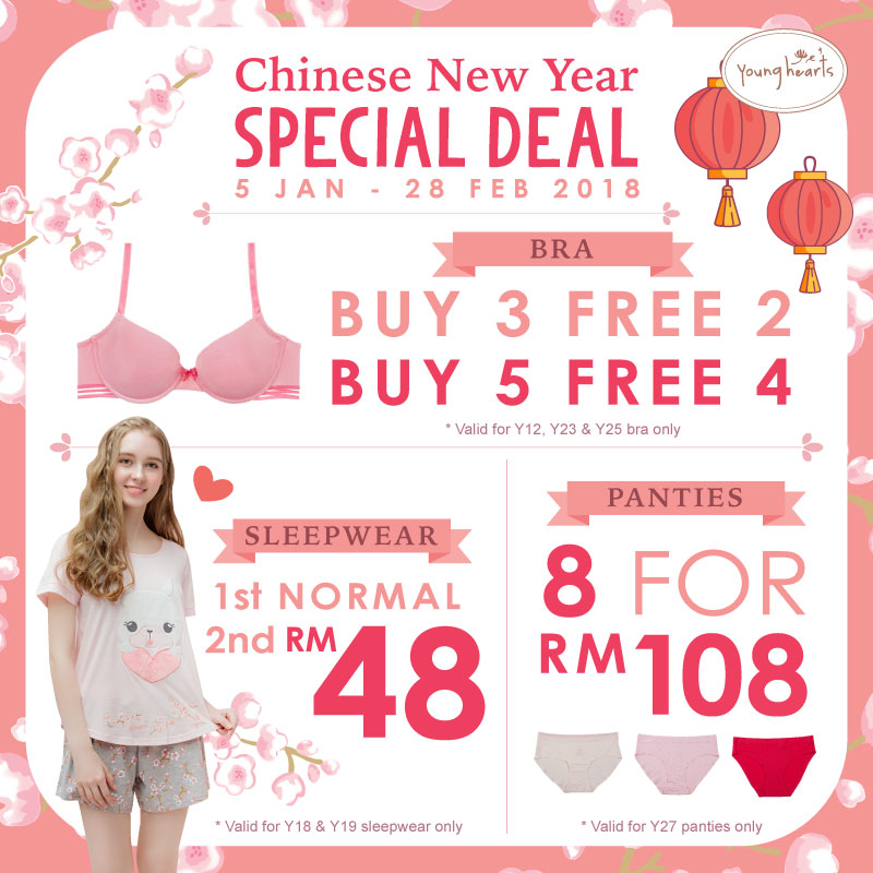 Young Heart CNY Promotion