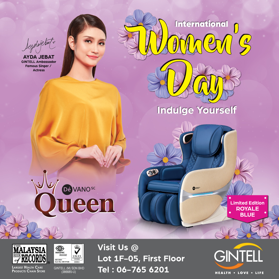 GINTELL International Women's Day Promotion