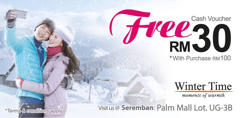 Free Cash Voucher RM30