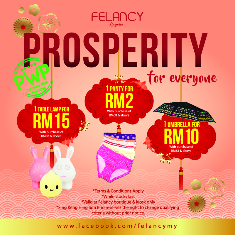 Felancy Monthly Promotion