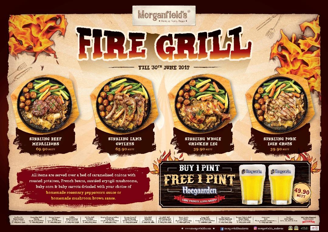 Fire Grill Promo