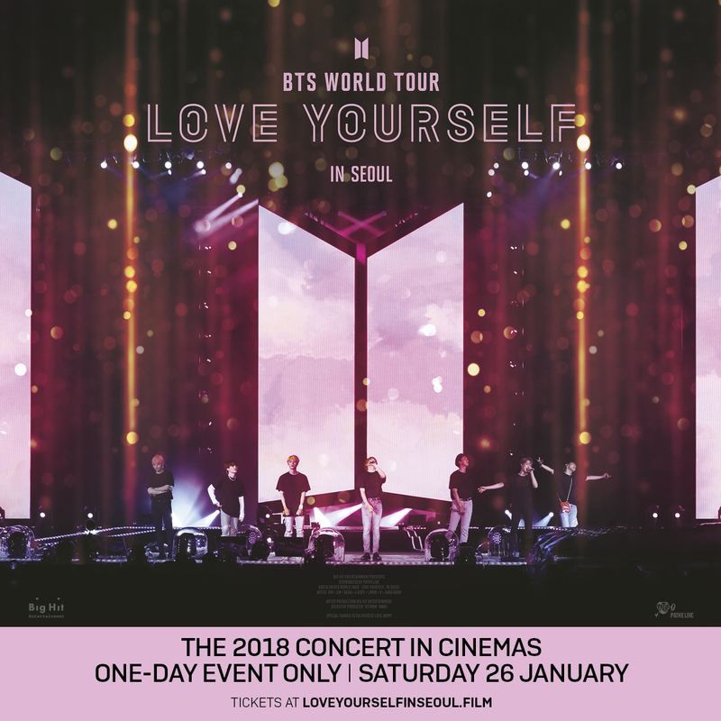 BTS World Tour Love Yourself In Seoul - Screening in GSC