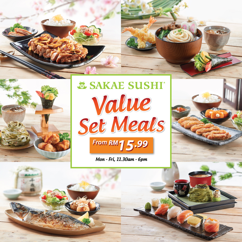 Sakae Value Set Meals