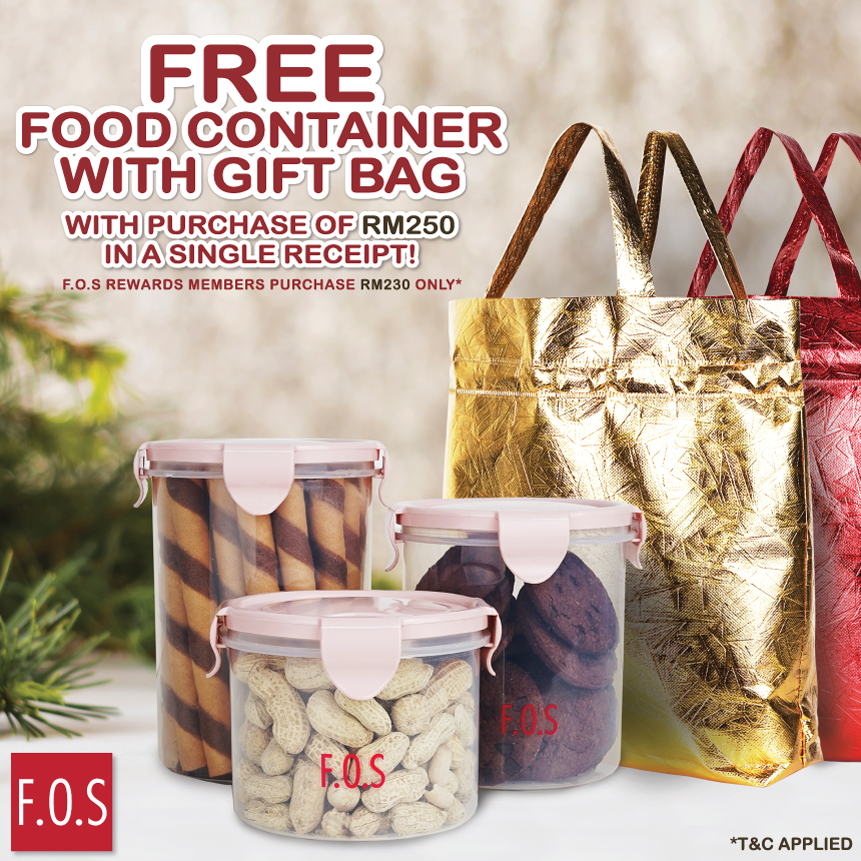 Food Container With Gift Bag Promotion!