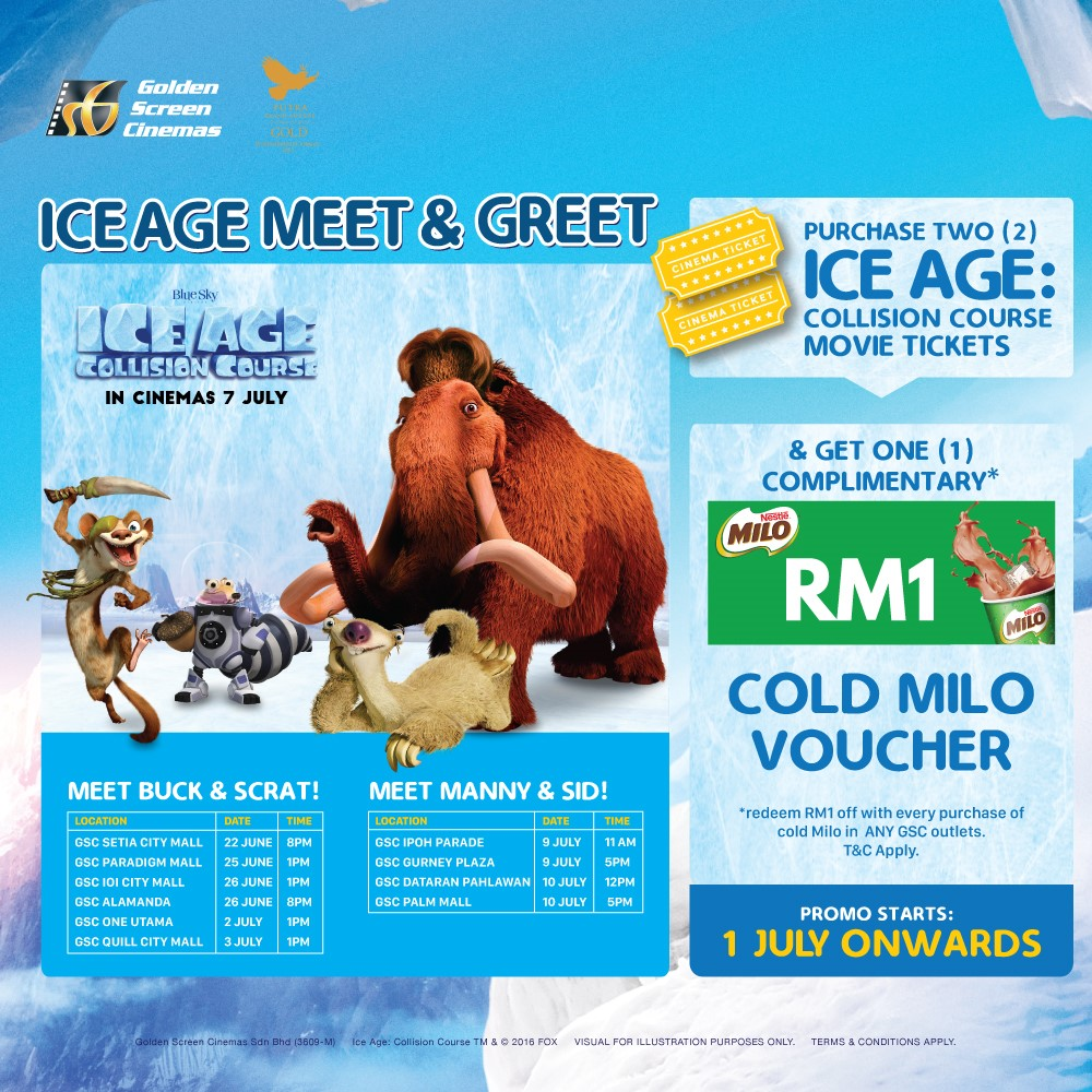 Ice Age Meet and Greet