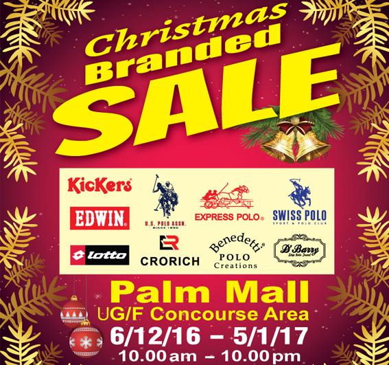 Christmas Branded Sale