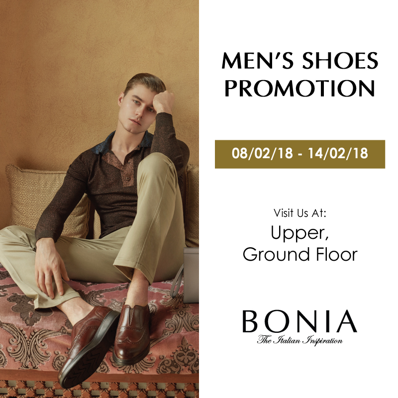 BONIA Men's Shoes Promotion