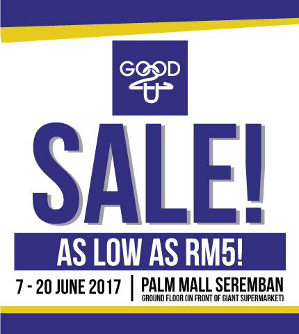 SALE AS LOW AS RM5!