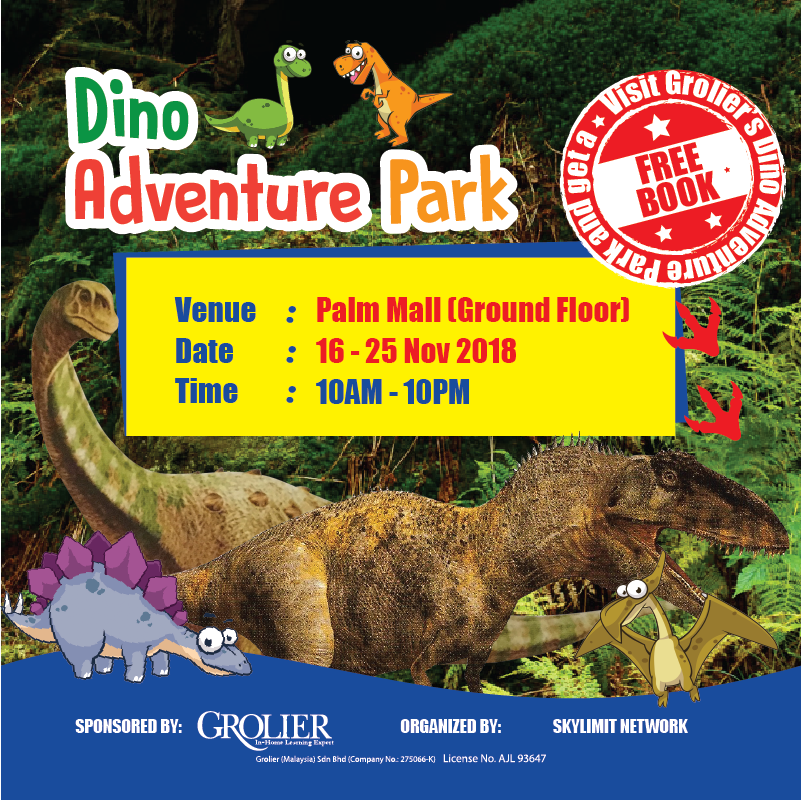 Dino Fair @ Palm Mall