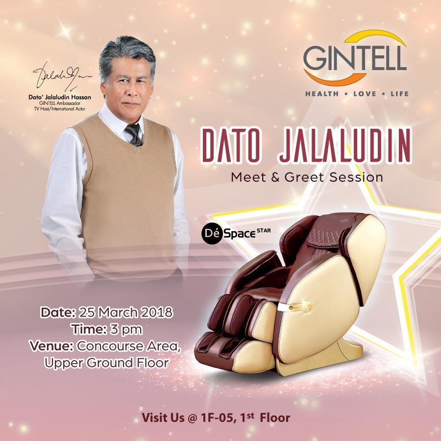 Gintell Meet & Greet Dato' Jalaludin Hassan