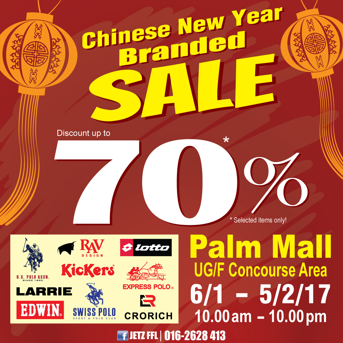 CNY Branded Sales
