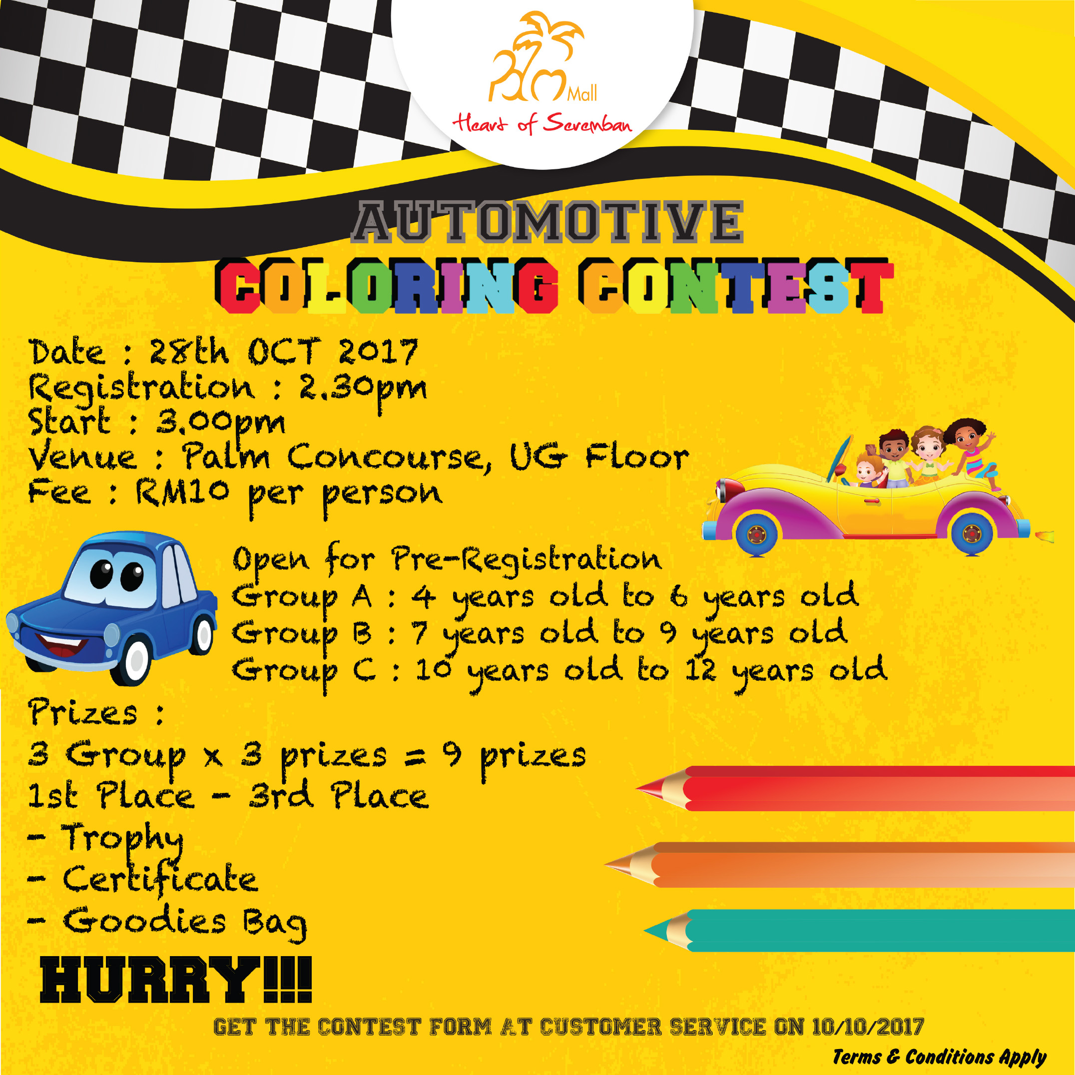 Automotive Coloring Contest