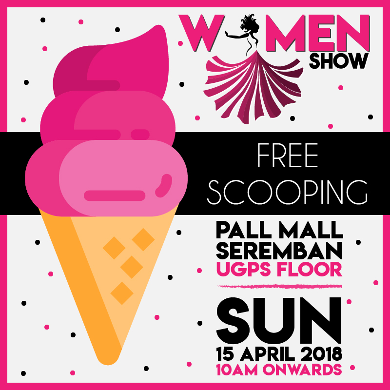 Free Scoops Ice-cream @Women Show