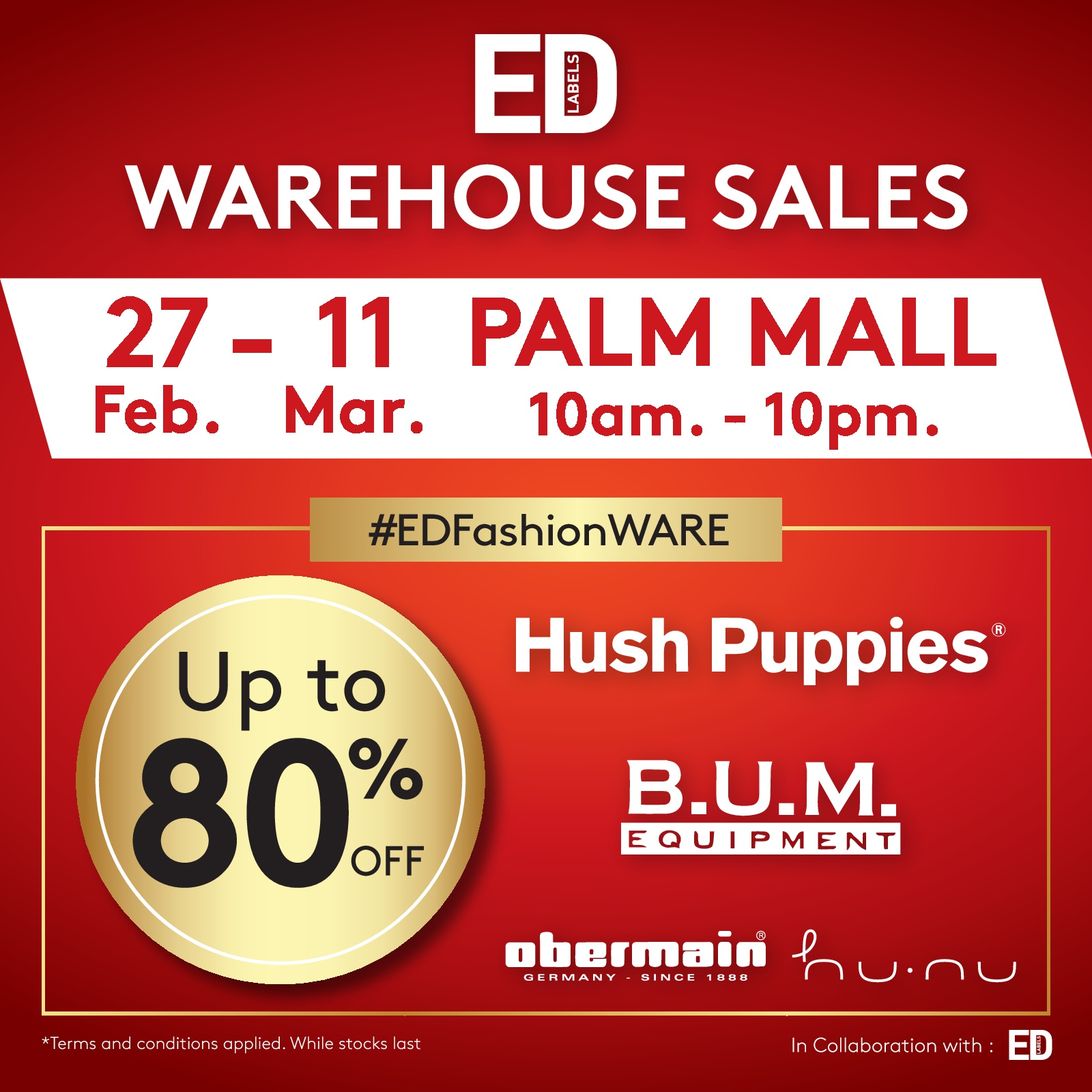 Warehouse Sale !