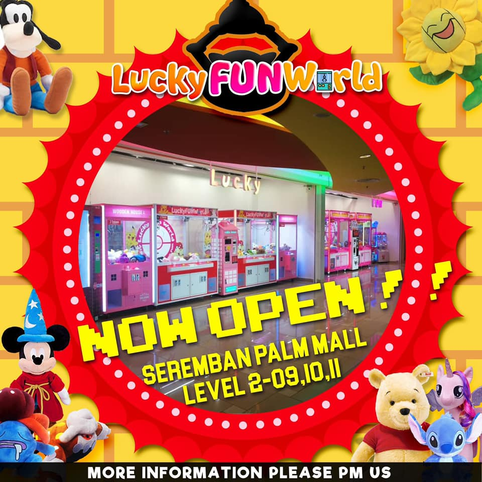Lucky Fun World Grand Opening