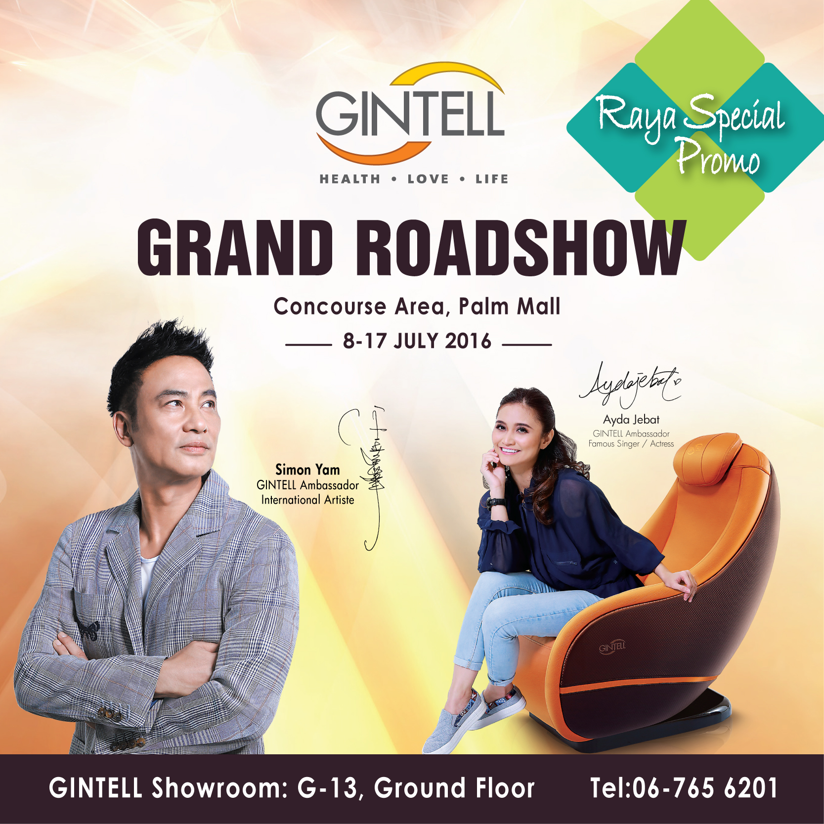 Gintell Grand Roadshow