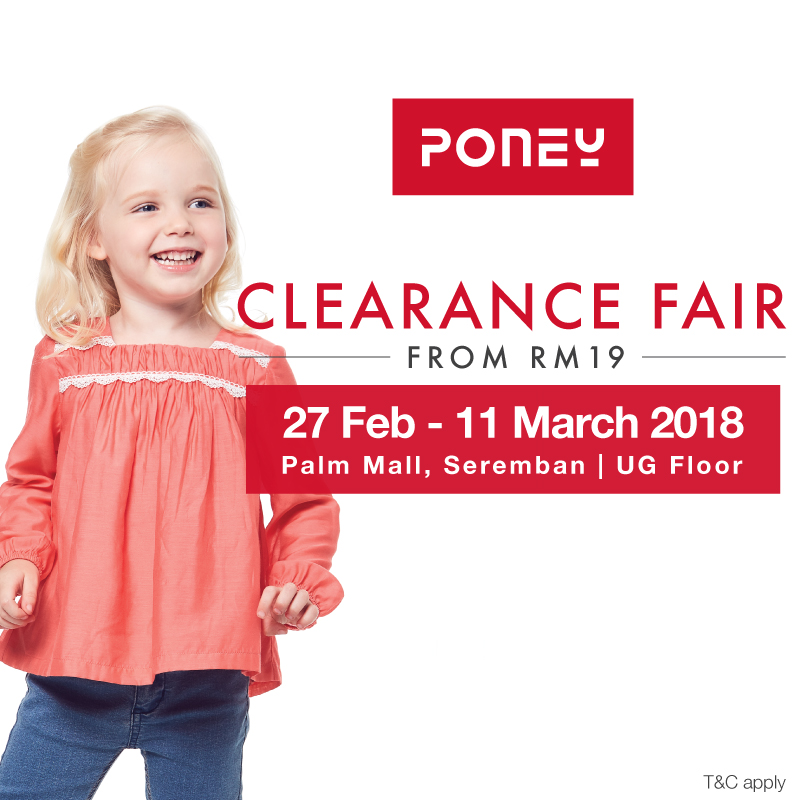 Poney Clearance Fair